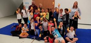 L'Espai Jove acull tallers did�ctics sobre el 9 d'Octubre i la festa de sant Don�s per a prop de 600 xiquets de Vila-real