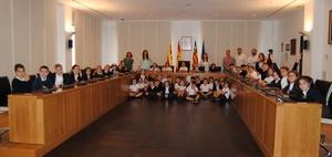 Alumnes de la Consolaci� visiten l'Ajuntament de Vila-real