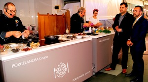 El Mercat Central dinamitza les vendes amb exhibicions culin�ries de l'Associaci� Gastron�mica
