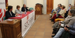 Socarrats presenta '� Punt, l'espai p�blic de comunicaci� valenci�', de la m� de la seua directora