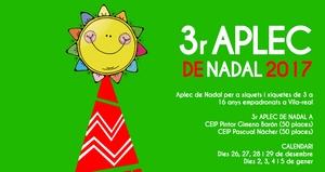 El Aplec de Nadal convoca la tercera edici� amb 100 places per a afavorir la conciliaci� i l'atenci� als xiquets en vacances
