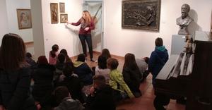 Els escolars s'apropen a T�rrega amb visites guiades a la Casa de Polo