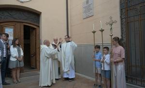 Joventut Antoniana descobreix la placa del centenari