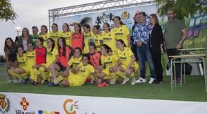 El Villarreal femen� es proclama campi� de la IV Girl's Cup