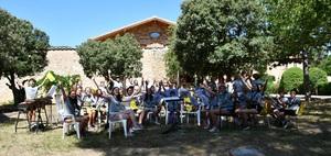 La Lira celebra el seu campament d'estiu a Morella