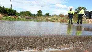L'alerta per pluges deixa 20 litres a Vila-real en un mat� sense incid�ncies remarcables i bon funcionament del protocol