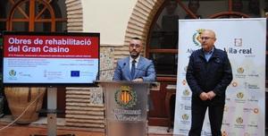 Vila-real inverteix 1,5 milions de fons europeus per a recuperar el Gran Casino i el Teatre Tagoba com a espais culturals i de serveis