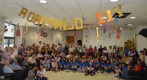 Les Olimp�ades del centre de dia d'Alzheimer de Vila-real congreguen a m�s de cent persones