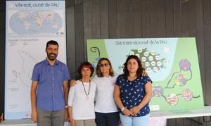 Vila-real commemora el Dia de la Pau amb una jornada educativa i una taula redona del Grup de Dones