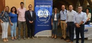 Vila-real dona suport a la labor d'AFA per a sensibilitzar sobre l'alzh�imer