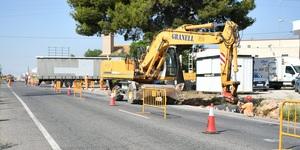 La modernitzaci� de pol�gons pren impuls amb l'inici de les obres en la zona industrial de la carretera d'Onda
