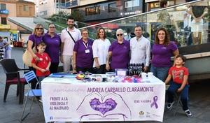 Diversi� en fam�lia per a reivindicar la igualtat i la prevenci� de la viol�ncia de g�nere de la m� de l'associaci� Andrea Carballo
