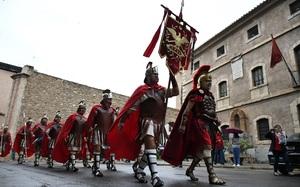 La Gu�rdia Romana de la Sang desfila per Segorbe