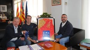 Benlloch felicita a Rub�n Solera per les tres medalles en el recent Campionat Europeu de Wushu Kung-Fu