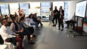 Estudiants de l'Escola d'Art i Superior de Disseny plantegen propostes d'interiorisme innovadores per a l'Espai Jove de Vila-real
