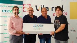 Les penyes de Vila-real reciclen 9.368 envasos de vidre amb la campanya La Penya Recicla d'Ecovidrio